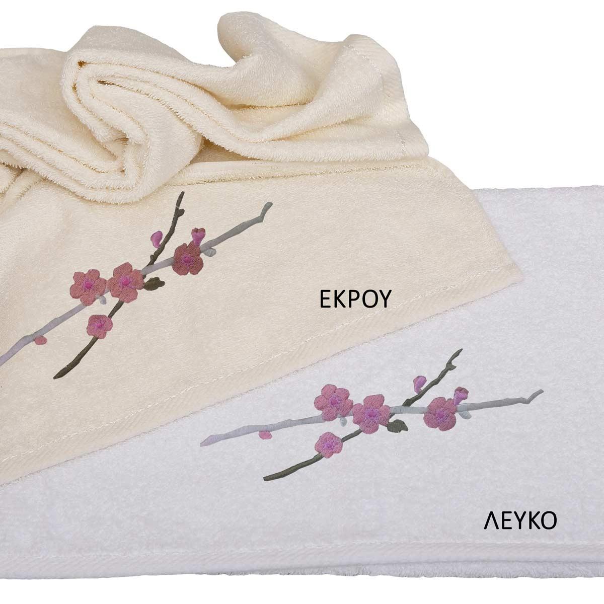 Πετσέτες Μπάνιου (Σετ 3τμχ) Viopros Applique Σχ28
