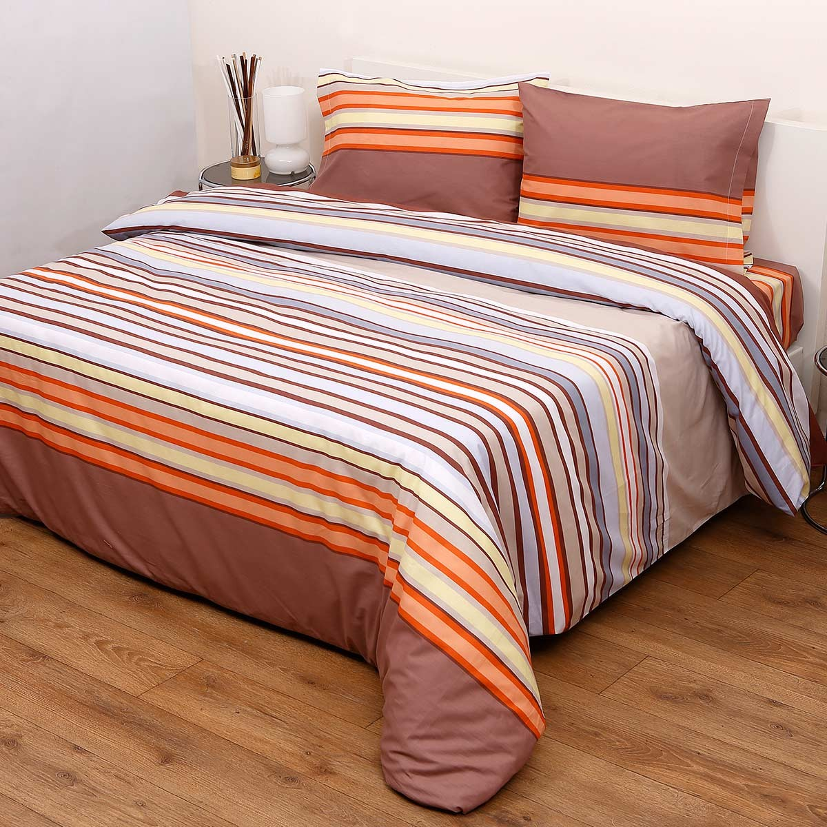 Πάπλωμα Ημίδιπλο (Σετ) Viopros Fresh Κέλι Μπεζ home   κρεβατοκάμαρα   παπλώματα   παπλώματα ημίδιπλα   διπλά
