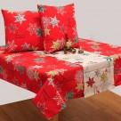 Χριστουγεννιάτικα Σουπλά (Σετ 2 τμχ) Viopros 4430 Κόκκινο