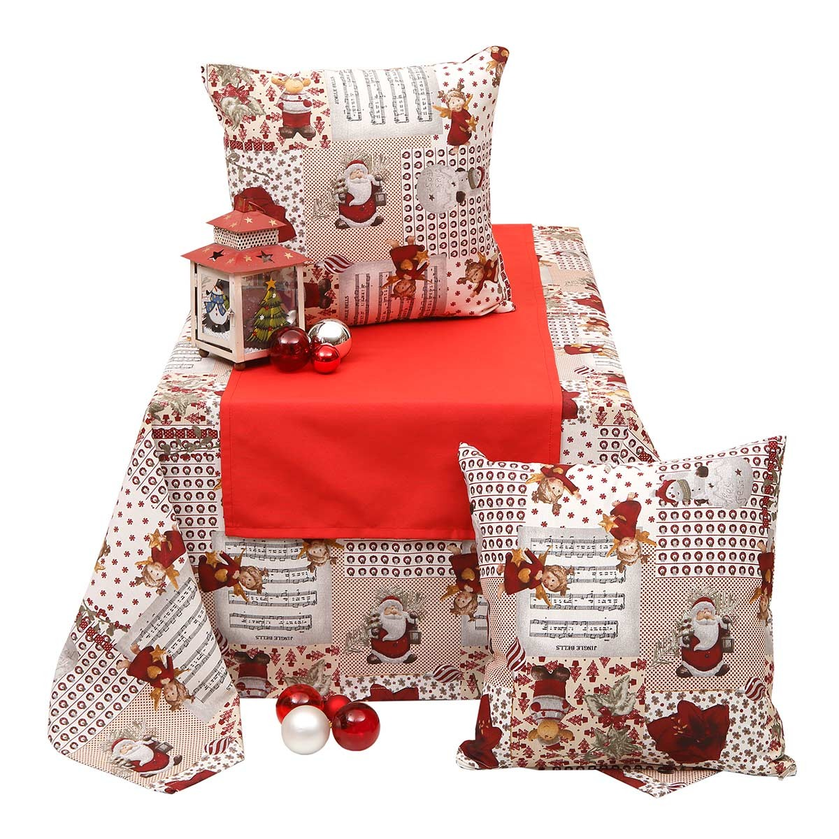 Χριστουγεννιάτικο Τραπεζομάντηλο (140x140) Viopros 4435