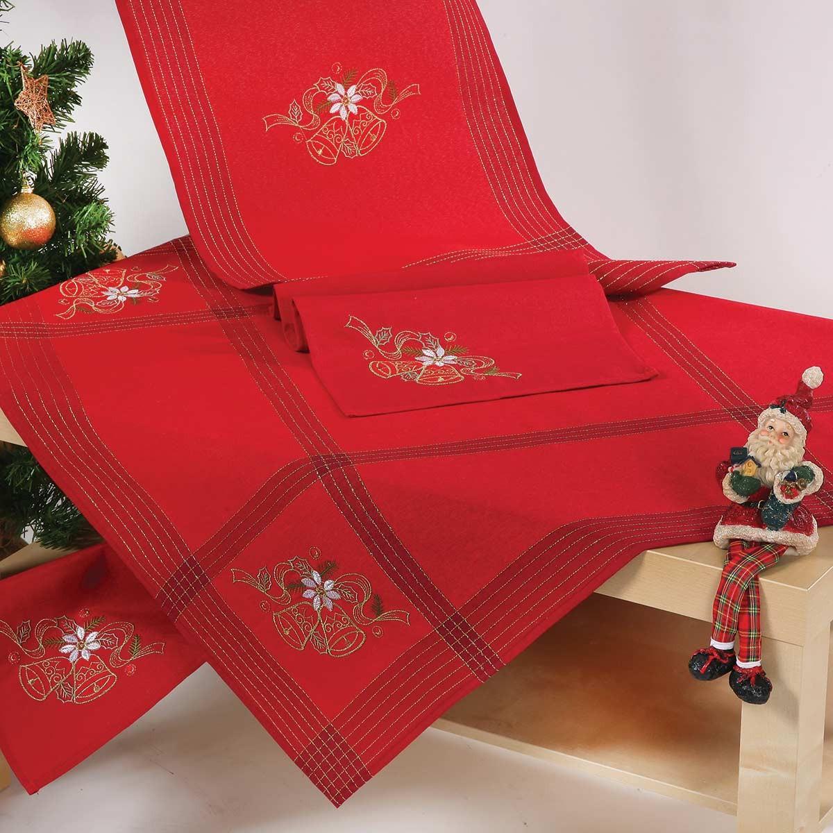 Χριστουγεννιάτικο Τραπεζομάντηλο (140×180) Viopros 3170