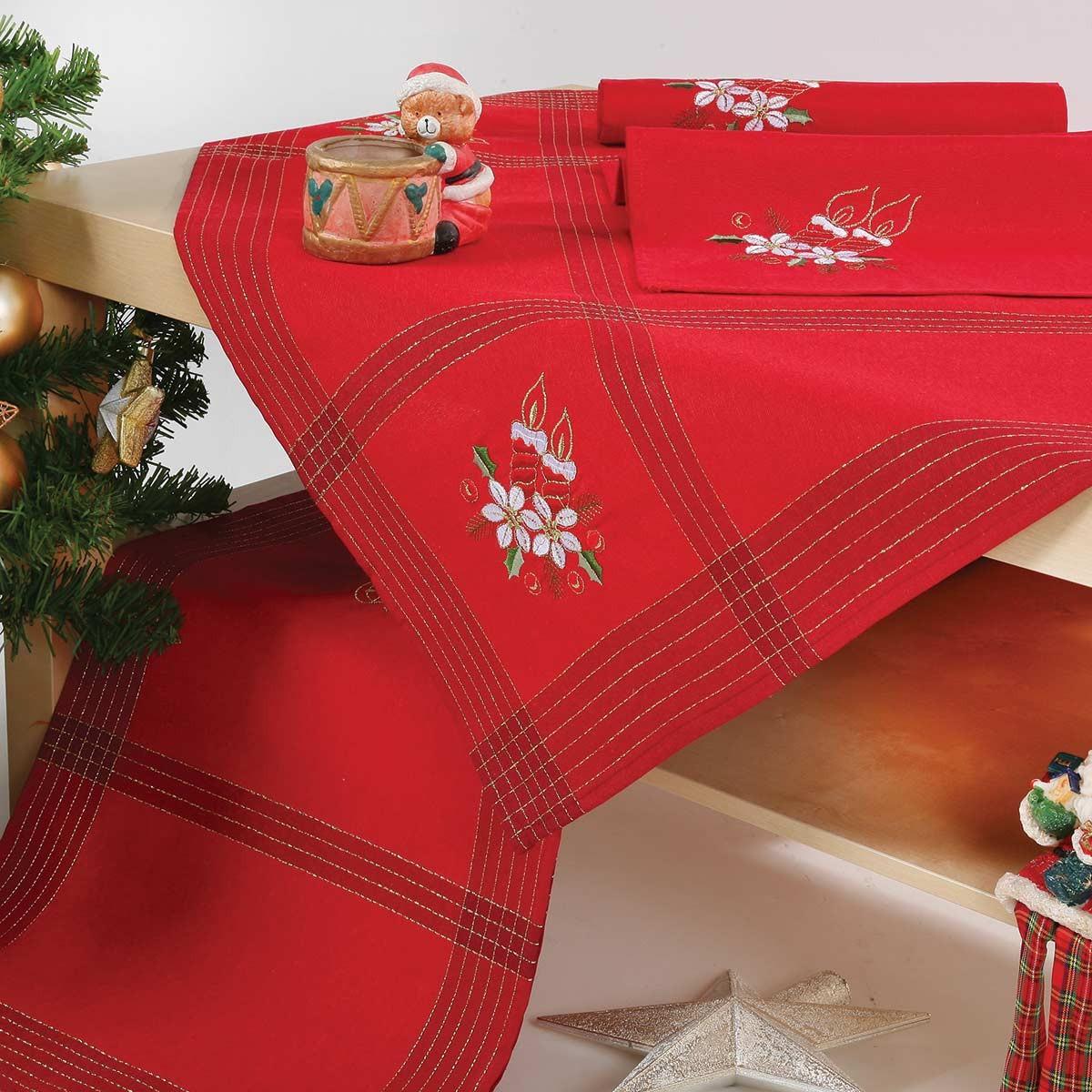Χριστουγεννιάτικο Τραπεζομάντηλο (140×180) Viopros 9868