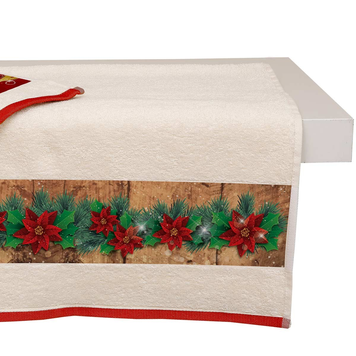 Χριστουγεννιάτικη Πετσέτα Προσώπου (50x90) Viopros 3302 home   χριστουγεννιάτικα   χριστουγεννιάτικες πετσέτες