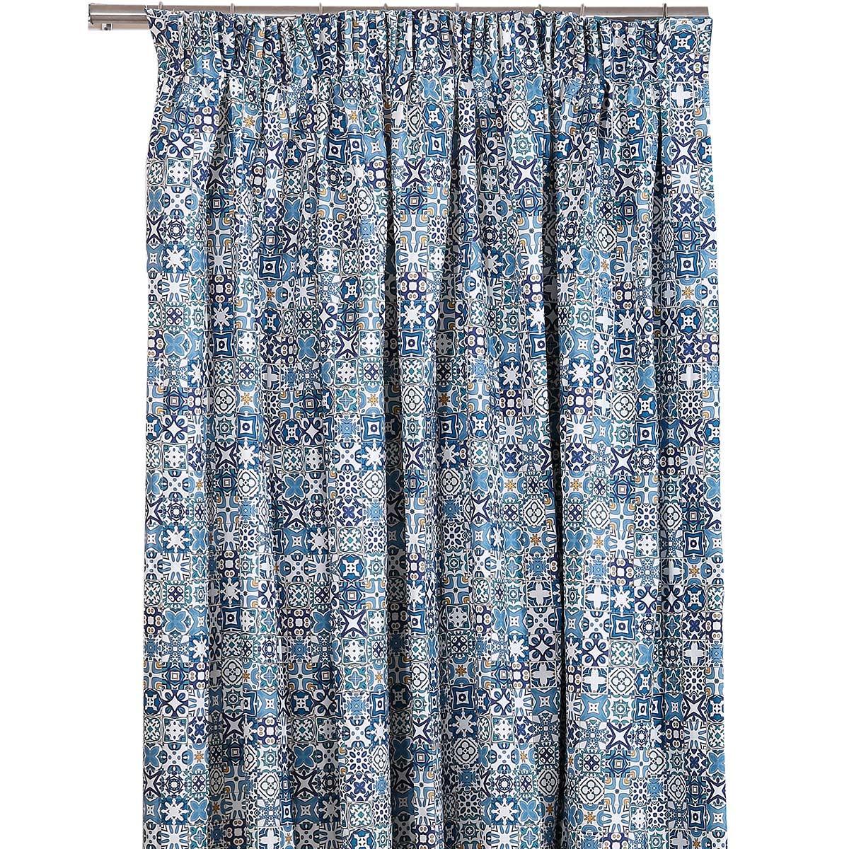 Κουρτίνα (160x270) Με Τρέσα Viopros Curtains Σάλμα