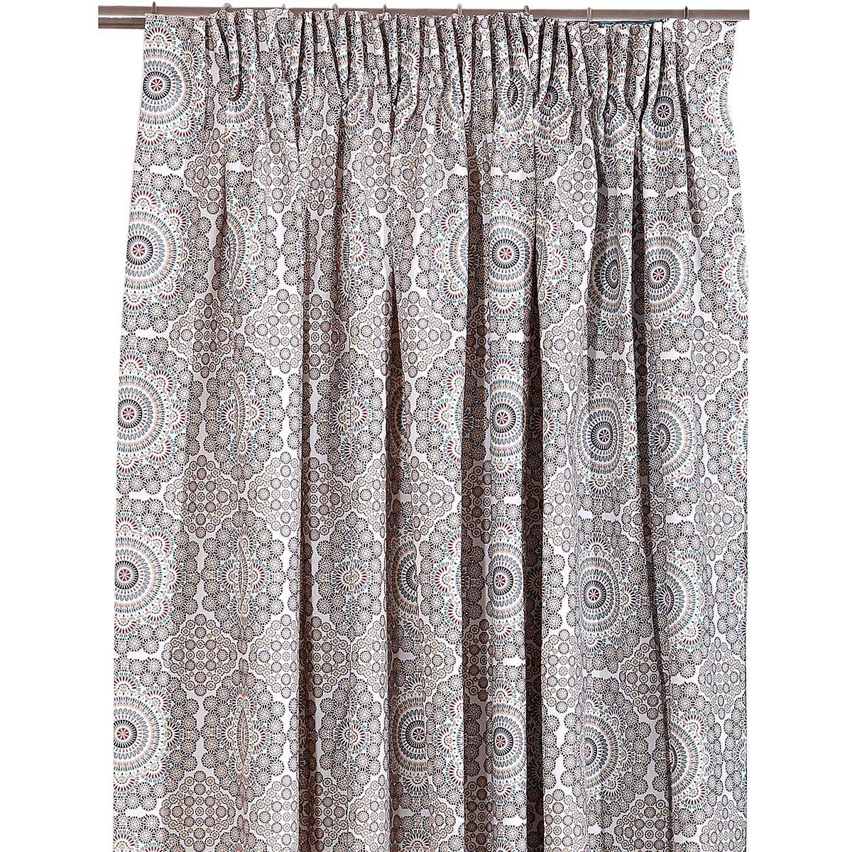Κουρτίνα (160x270) Με Τρέσα Viopros Curtains Μαρακές