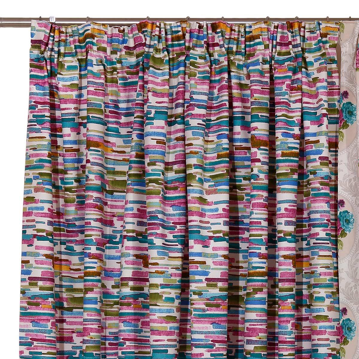 Κουρτίνα (160x270) Με Τρέσα Viopros Curtains Μόντα Χρ23