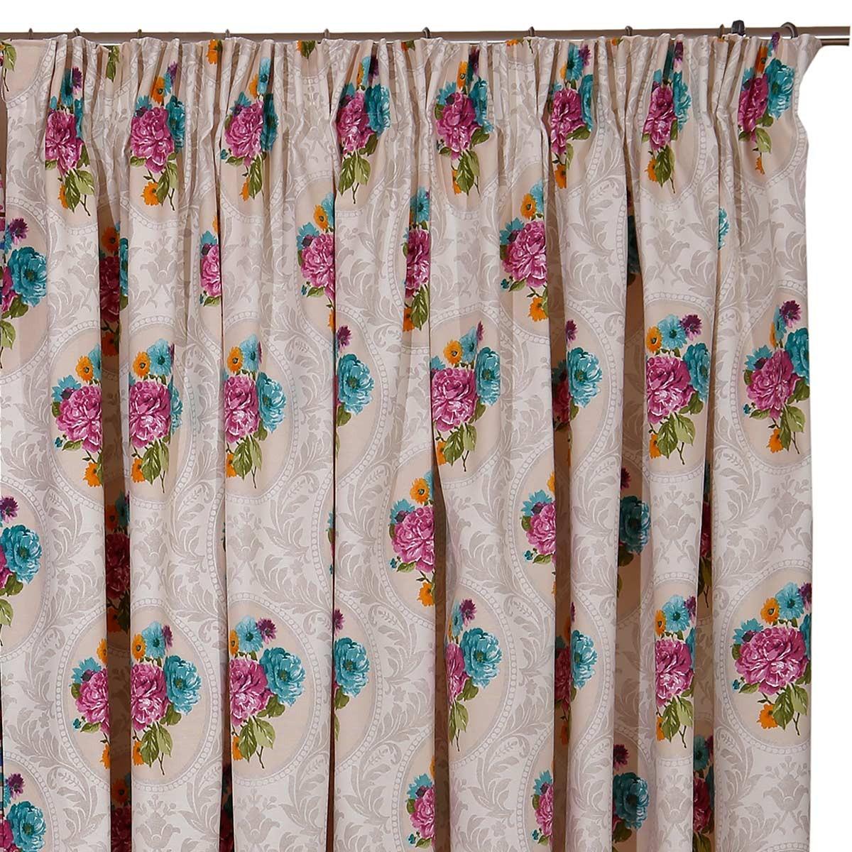 Κουρτίνα (160x270) Με Τρέσα Viopros Curtains Ίρμα Χρ23