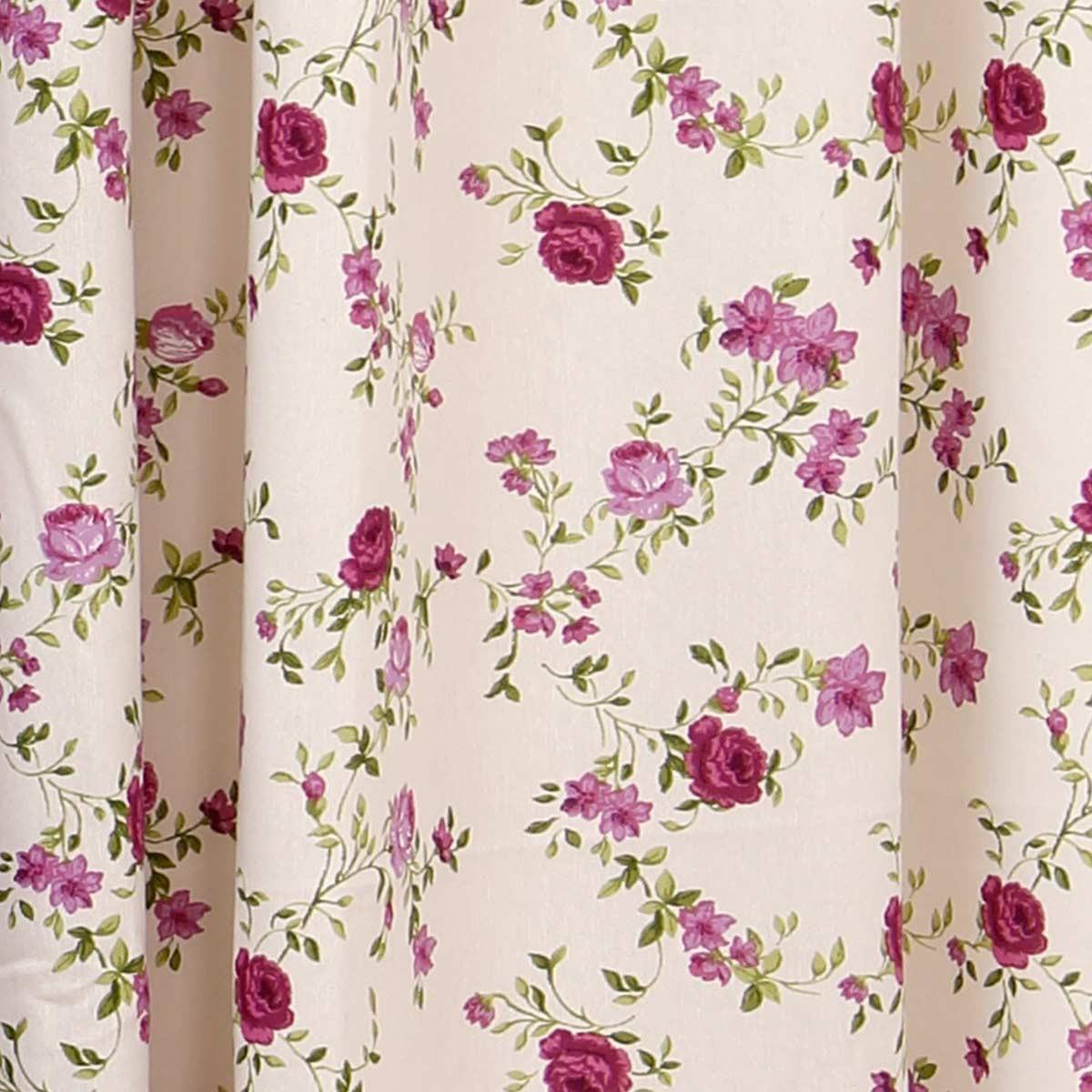 Κουρτίνα Με Τρέσα (280x270) Viopros Curtains Ζασμίν Λιλά