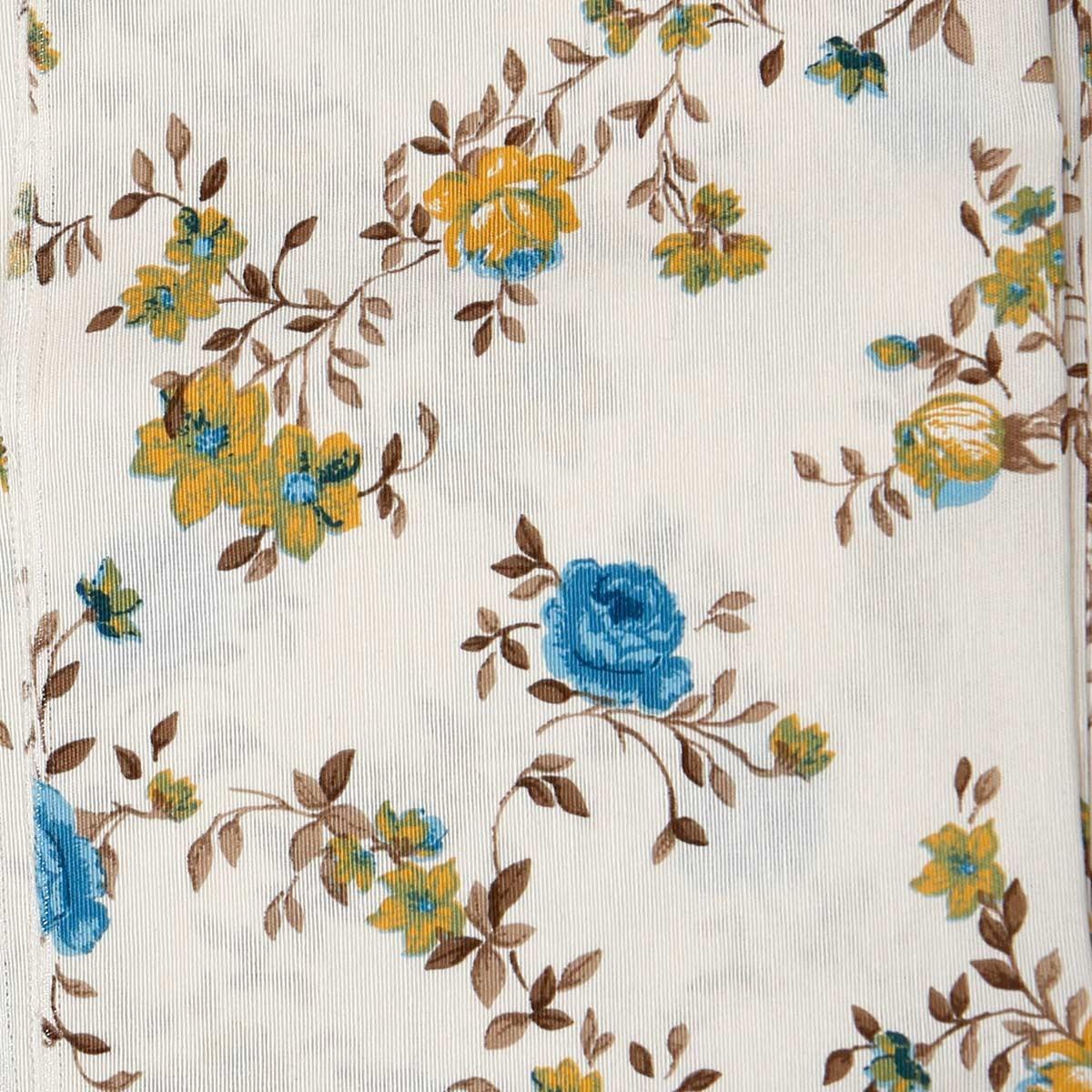 Κουρτίνα (160x270) Με Τρέσα Viopros Curtains Ζασμίν Μπλε