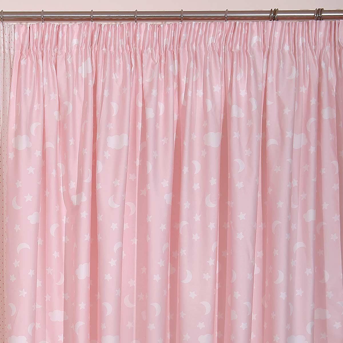 Παιδική Κουρτίνα (280x270) Viopros Curtains Σταρ Ροζ