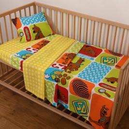 Παπλωματοθήκη Κούνιας (Σετ) Viopros Baby Scooby Doo