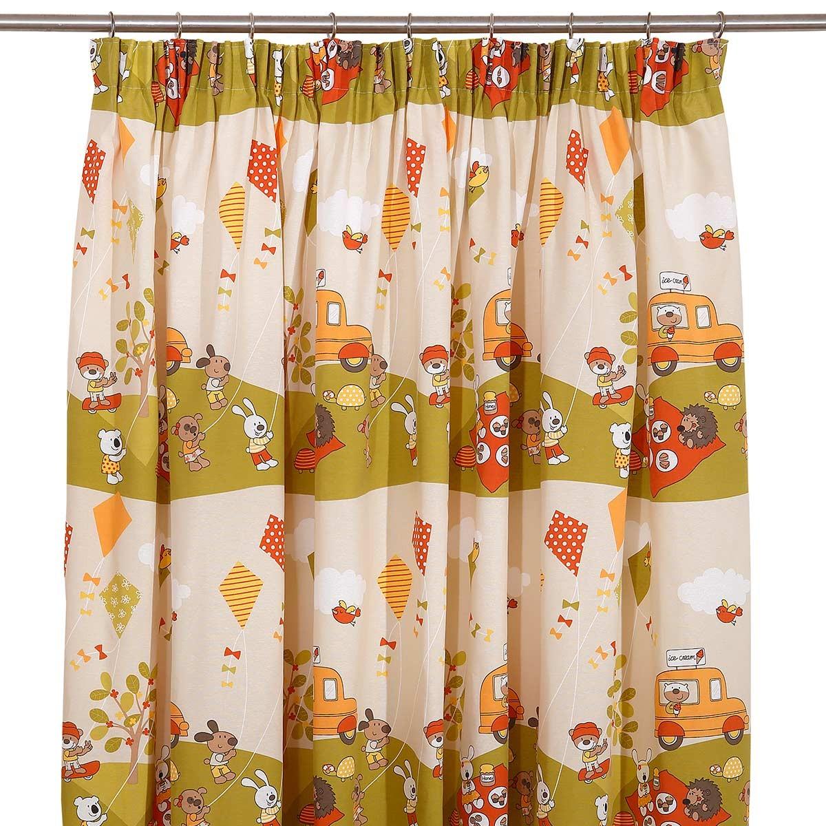 Παιδική Κουρτίνα (280x270) Viopros Curtains Πικ-Νικ
