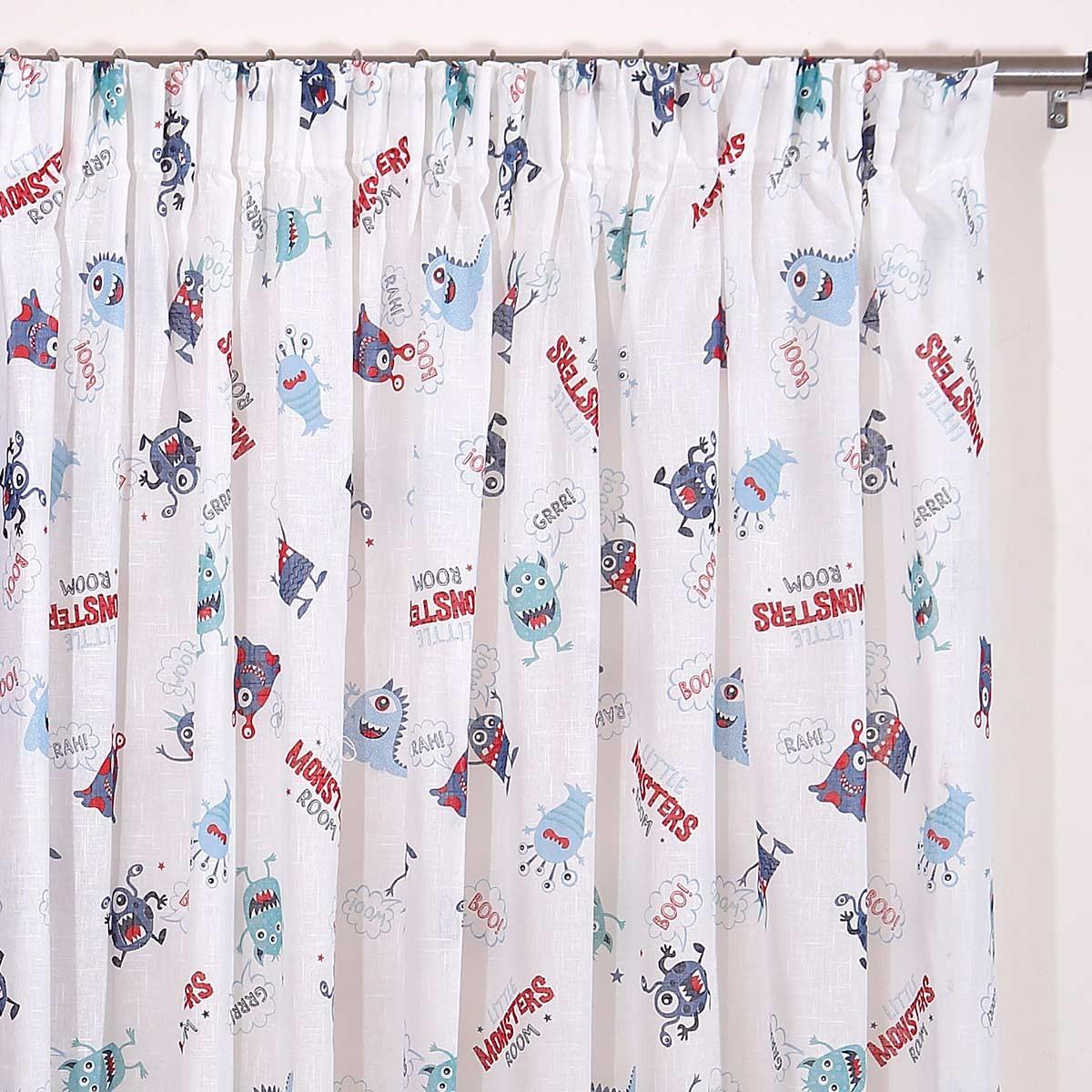 Παιδική Κουρτίνα (280×270) Viopros Curtains Γάζα Έλιοτ