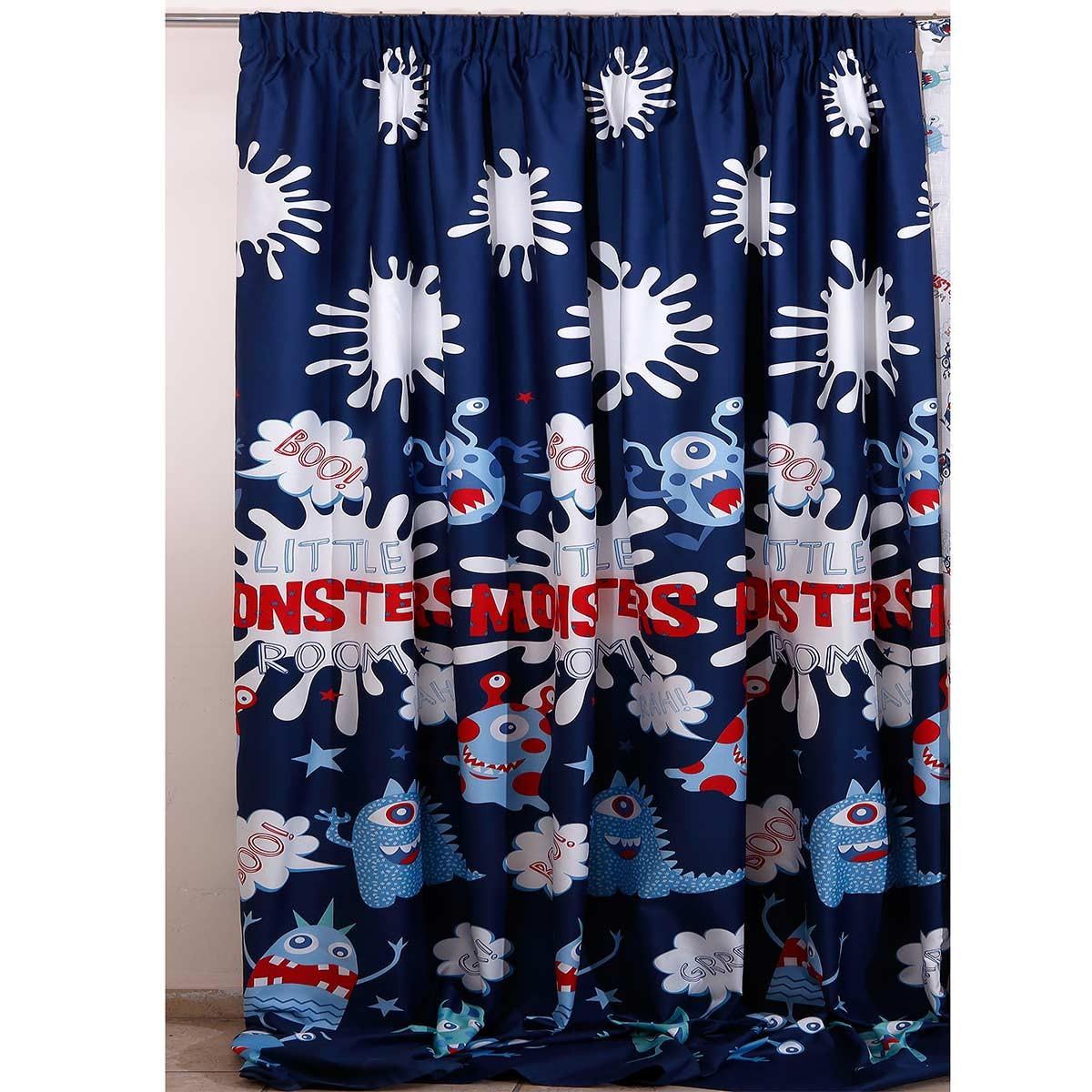 Παιδική Κουρτίνα (160×270) Viopros Curtains Έλιοτ Σατέν