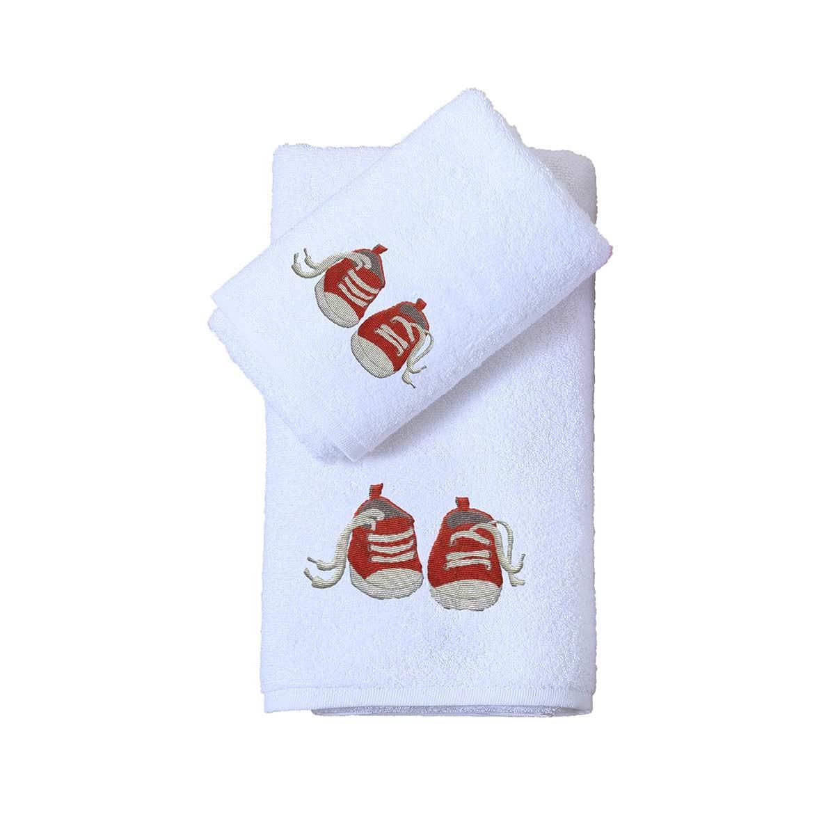 Βρεφικές Πετσέτες (Σετ 2τμχ) Viopros Σταράκια