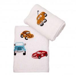 Βρεφικές Πετσέτες (Σετ) Viopros Αμαξάκια