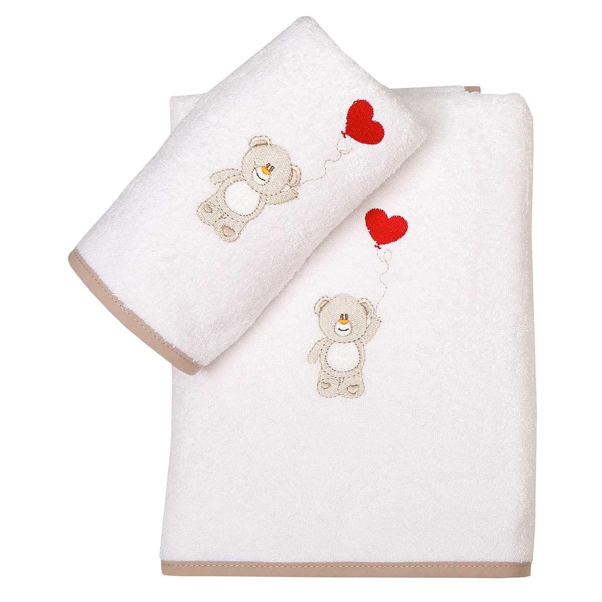 Βρεφικές Πετσέτες (Σετ 2τμχ) Viopros Τιμ