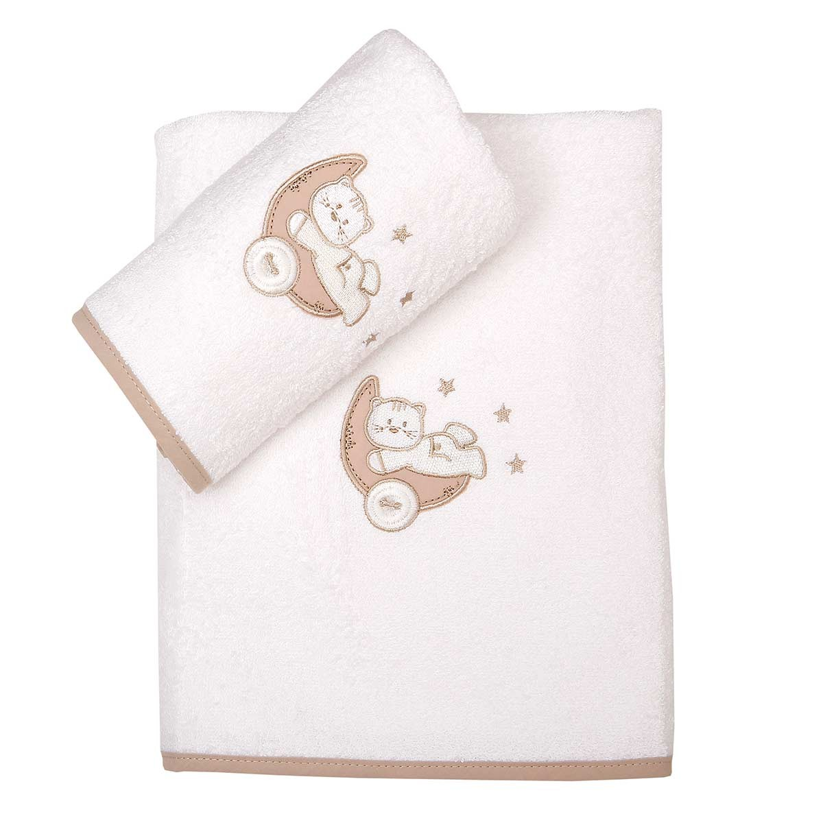 Βρεφικές Πετσέτες (Σετ 2τμχ) Viopros Κίτι