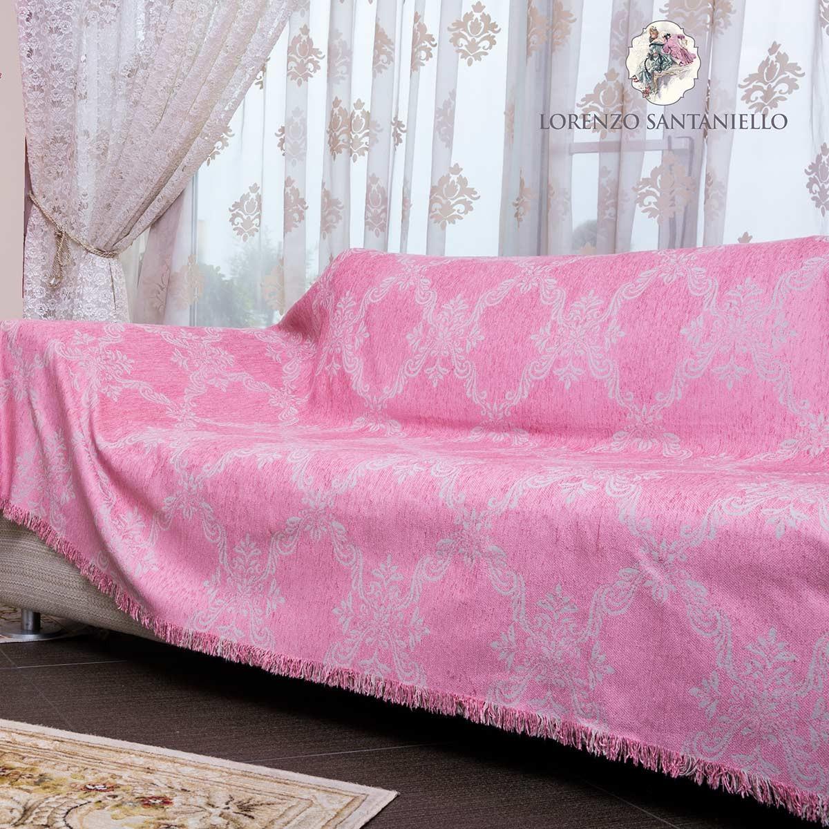 Ριχτάρι Πολυθρόνας (180x180) Lorenzo Santaniello Baroque Pink