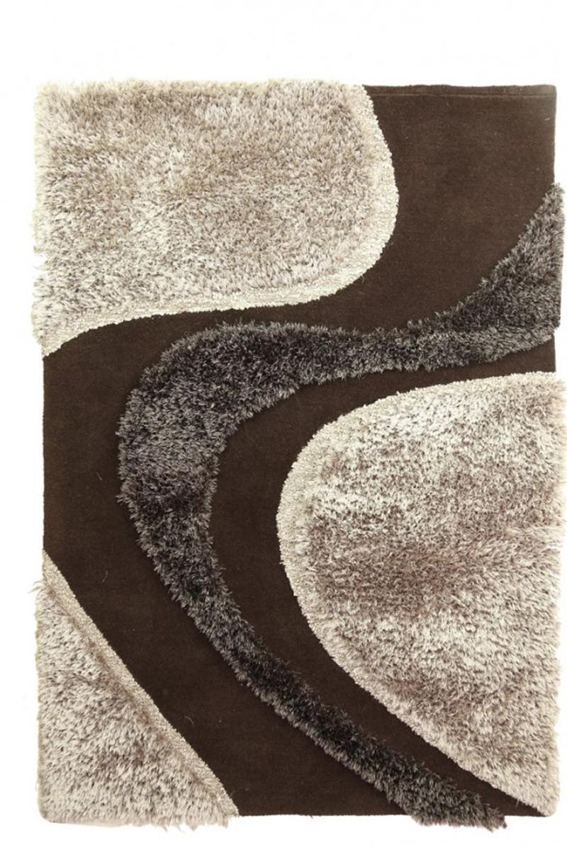 Χειροποίητο Χαλί (160×230) Royal Carpets White Tie 001 Wenge
