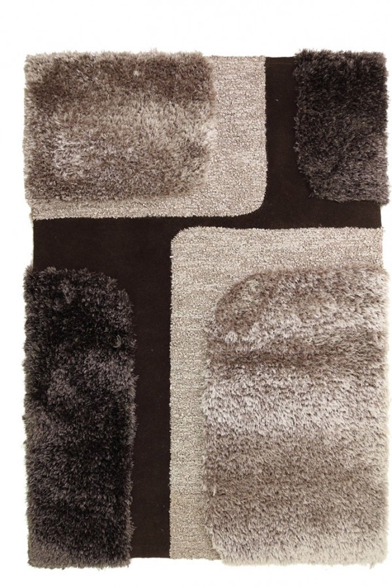 Χειροποίητο Χαλί (160x230) Royal Carpets White Tie 002 Wenge