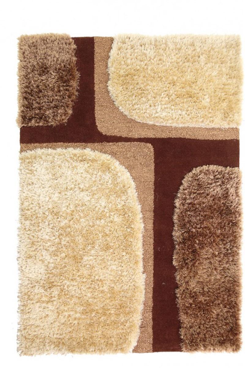 Χειροποίητο Χαλί (160x230) Royal Carpets White Tie 002 Beige