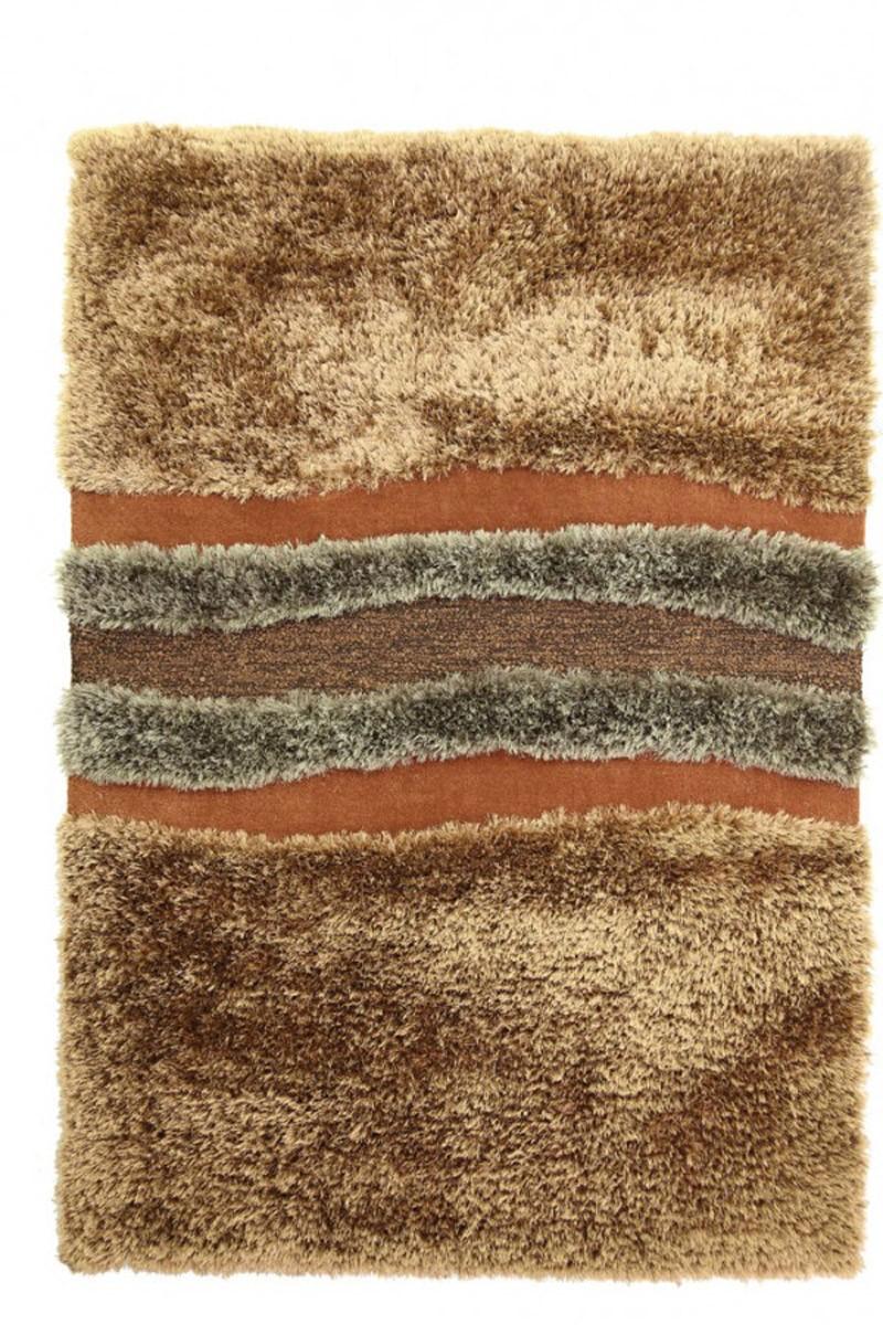 Χειροποίητο Χαλί (160x230) Royal Carpets White Tie 003 Brown
