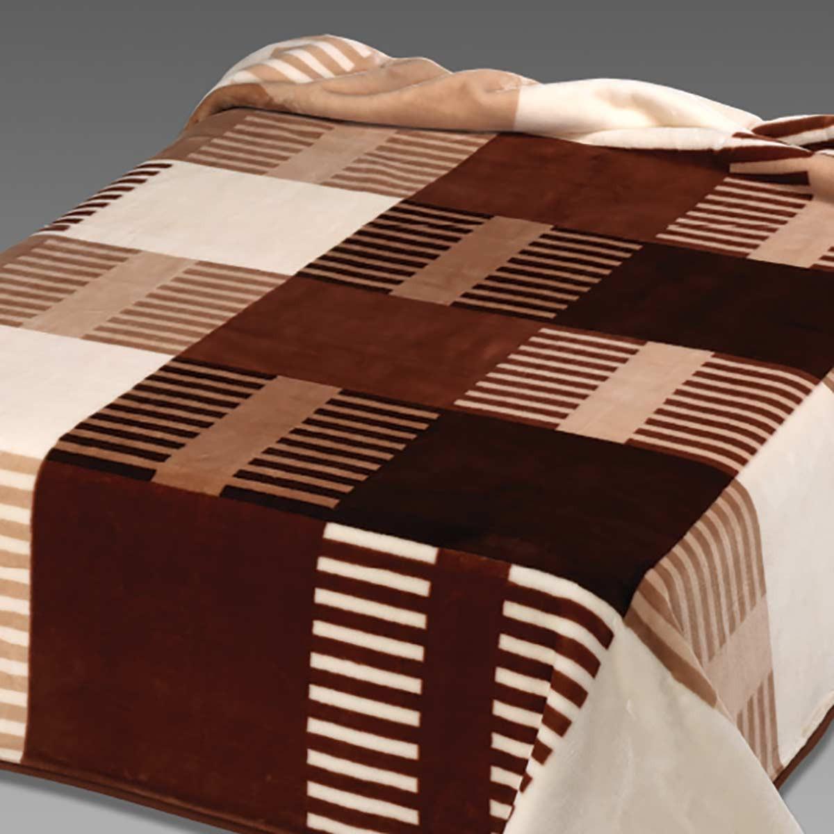 Κουβέρτα Βελουτέ Υπέρδιπλη Belpla Ster 260/M