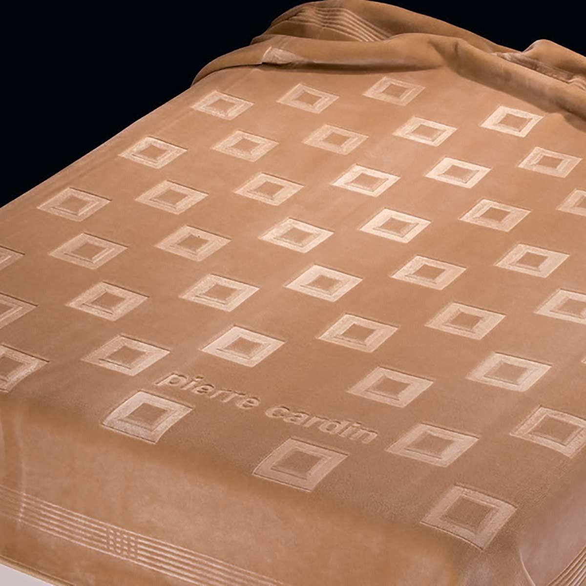Κουβέρτα Βελουτέ Υπέρδιπλη Pierre Cardin Nancy 450/18