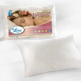 Βρεφικό Μαξιλάρι Βαμβακερό La Luna Baby All Cotton