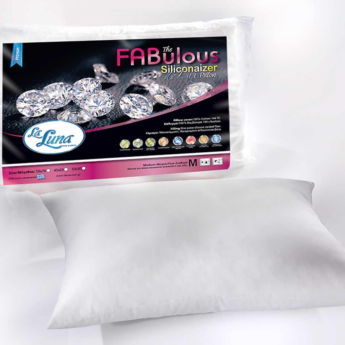 Μαξιλάρι Ύπνου (45x65) La Luna Siliconaizer