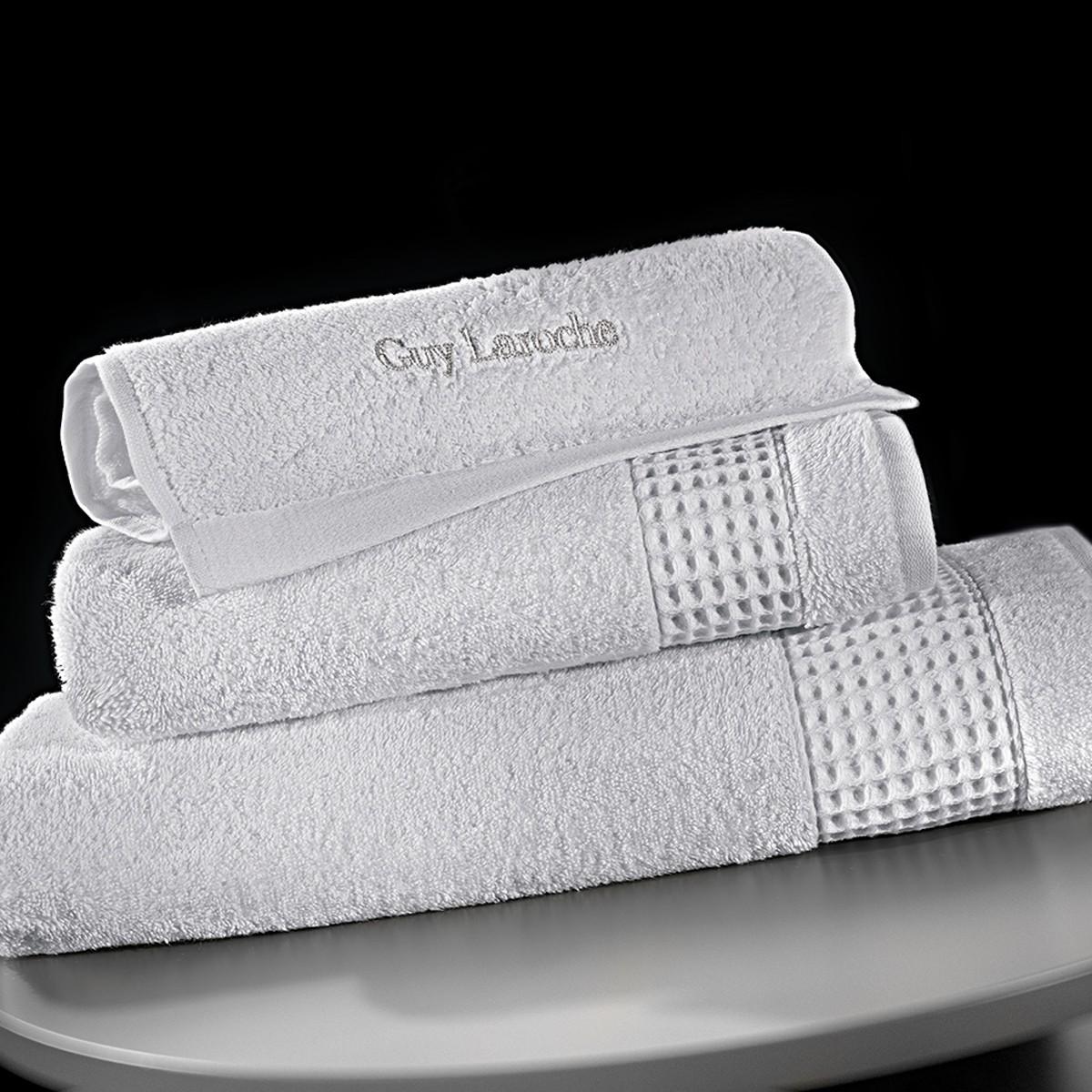 Πετσέτες Μπάνιου (Σετ 3τμχ) Guy Laroche Amaro Silver