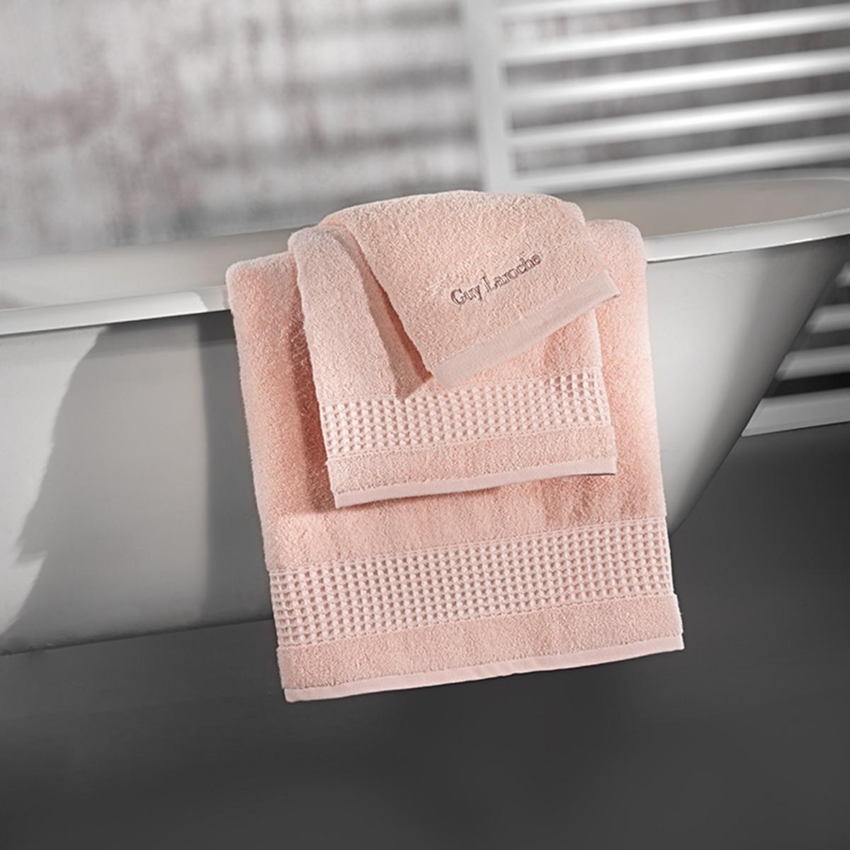 Πετσέτες Μπάνιου (Σετ 3τμχ) Guy Laroche Amaro Rose Pink