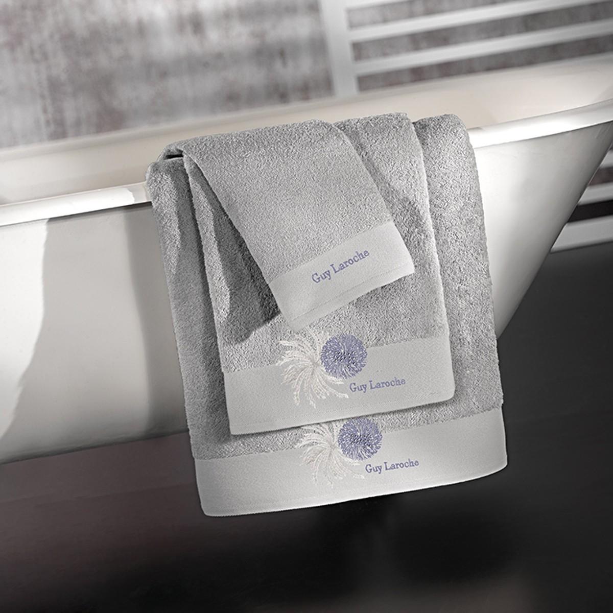 Πετσέτες Μπάνιου (Σετ 3τμχ) Guy Laroche Ofelia Silver