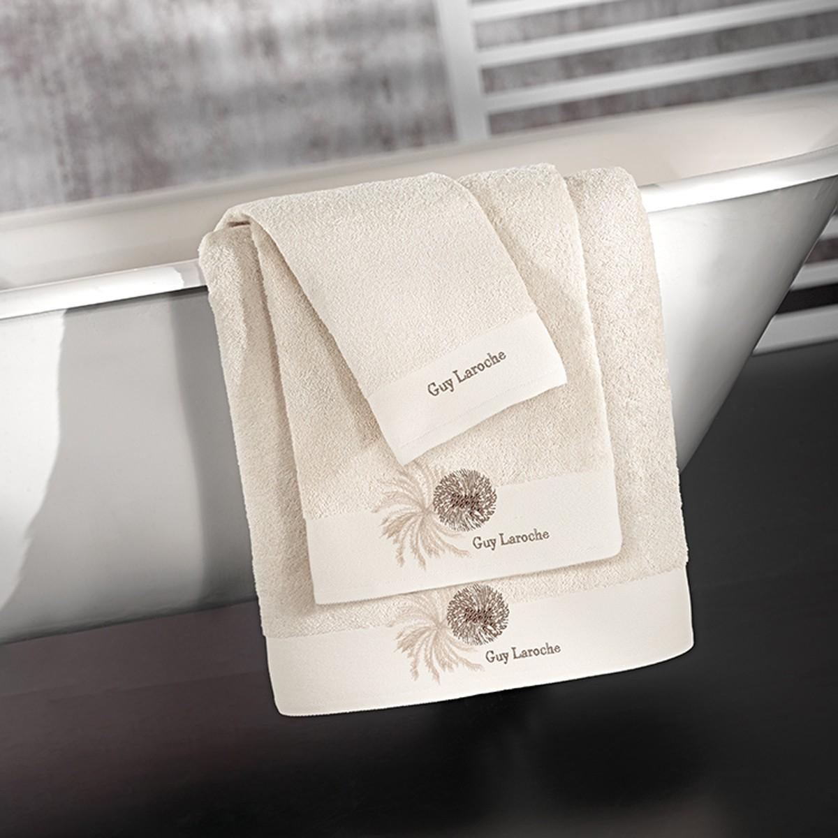 Πετσέτες Μπάνιου (Σετ 3τμχ) Guy Laroche Ofelia Ivory