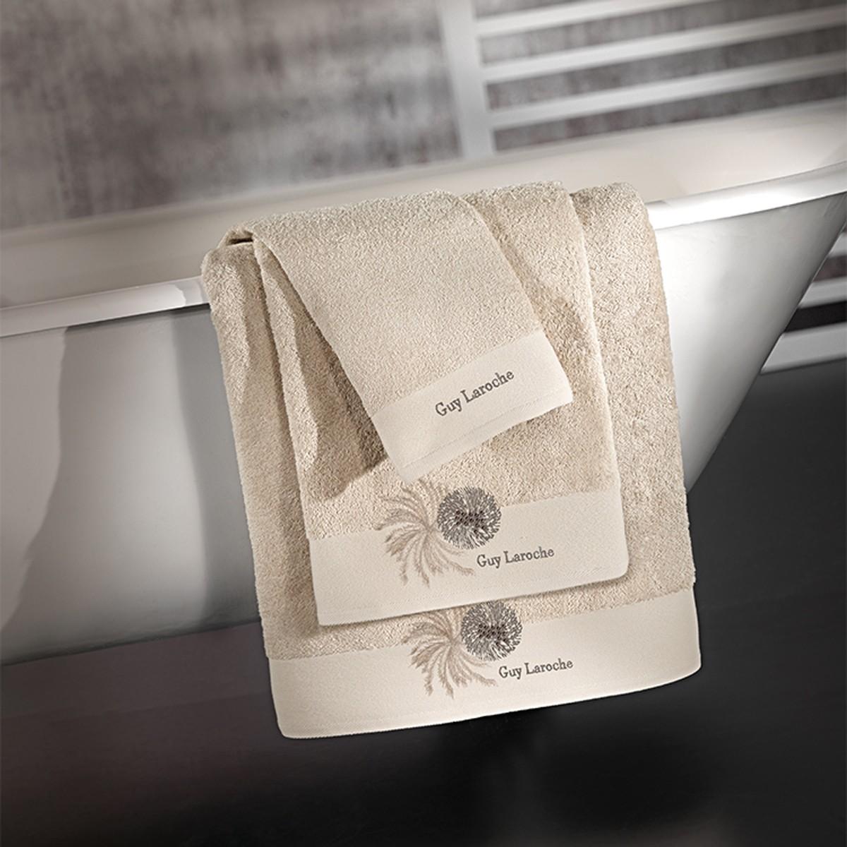 Πετσέτες Μπάνιου (Σετ 3τμχ) Guy Laroche Ofelia Natural