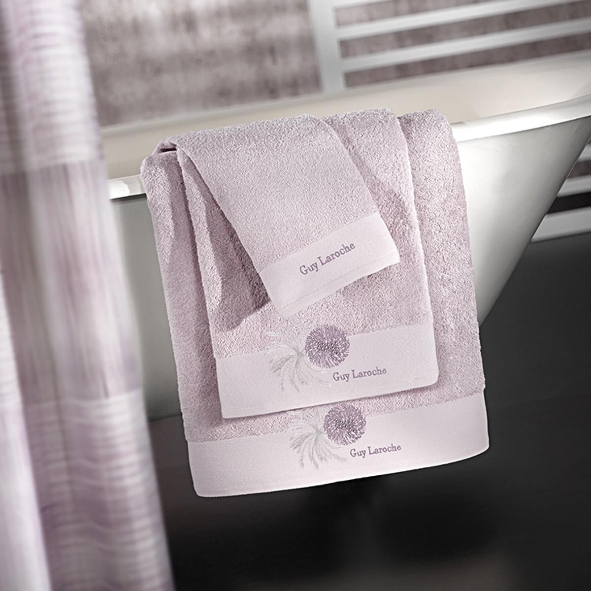 Πετσέτες Μπάνιου (Σετ 3τμχ) Guy Laroche Ofelia Lilac
