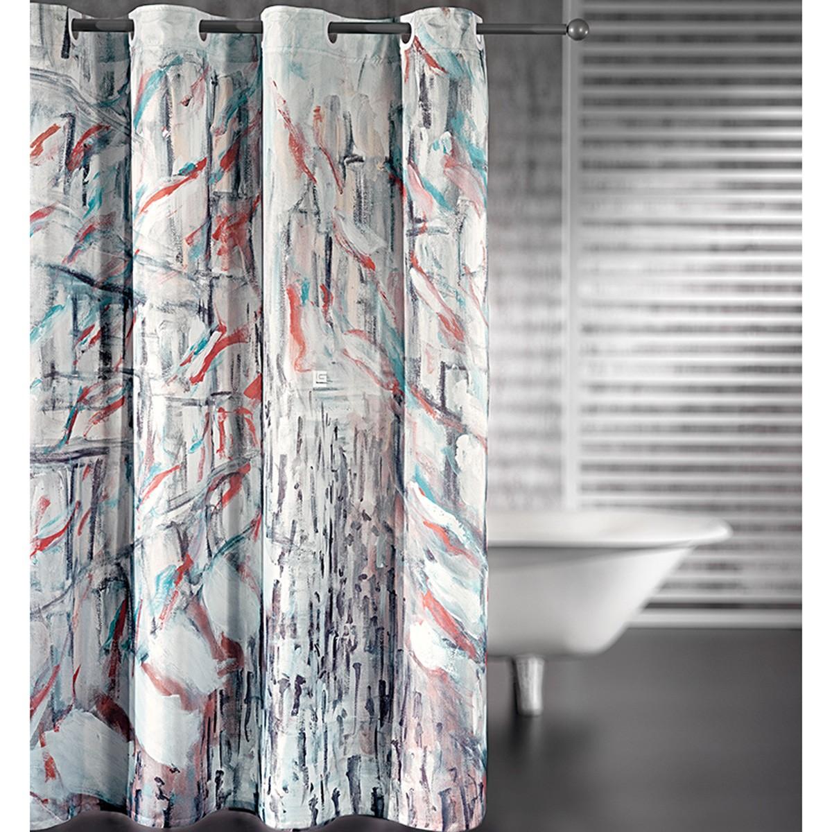 Κουρτίνα Μπάνιου (180x185) Guy Laroche Pastel