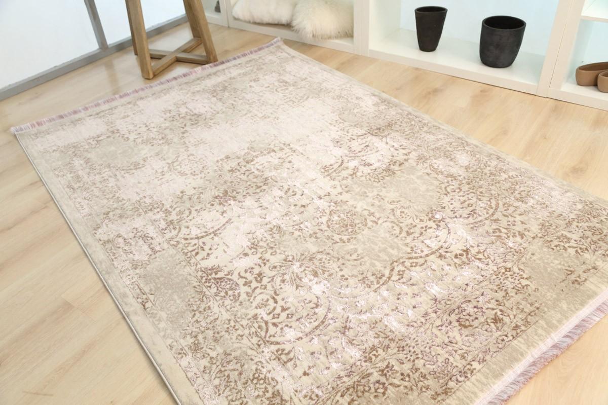 Χαλί (133x190) Royal Carpets Drama 58008 Beige Purple