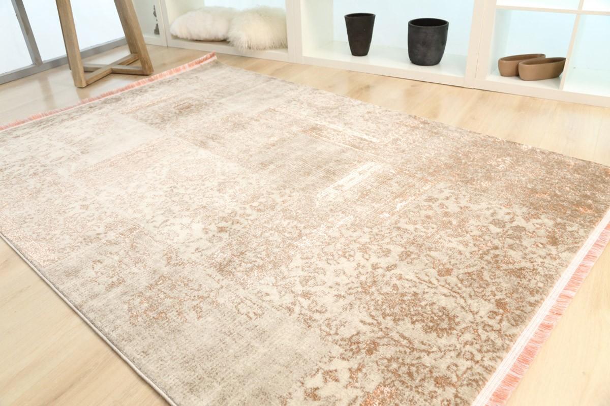 Χαλί (133x190) Royal Carpets Drama 58014 Beige Orange