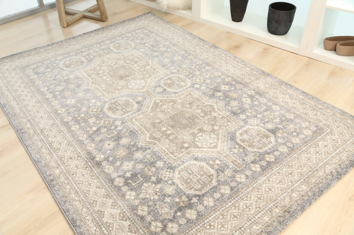 Χαλί (133×190) Royal Carpets Sofia 560 12 Light Grey