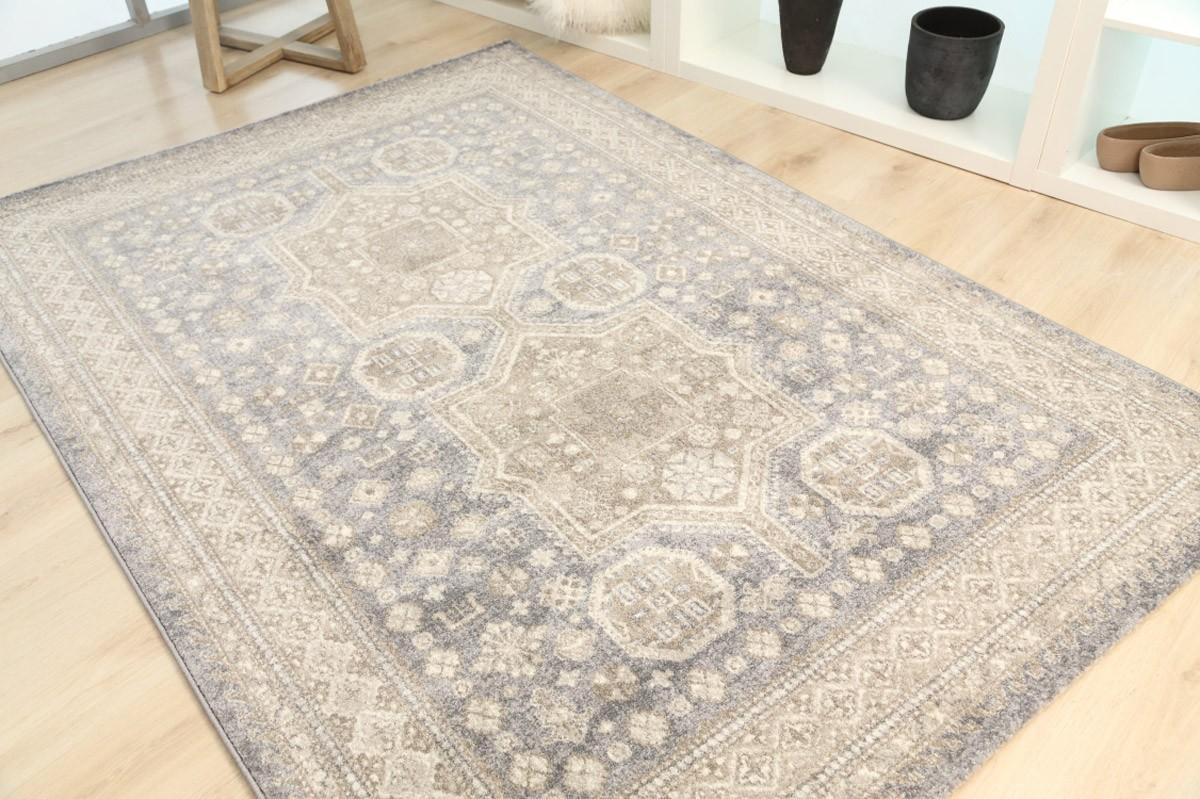 Χαλί (133x190) Royal Carpets Sofia 560 12 Light Grey