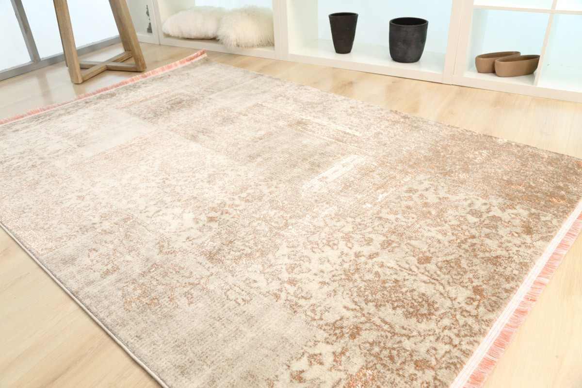 Χαλί (160x230) Royal Carpets Drama 58014 Beige Orange