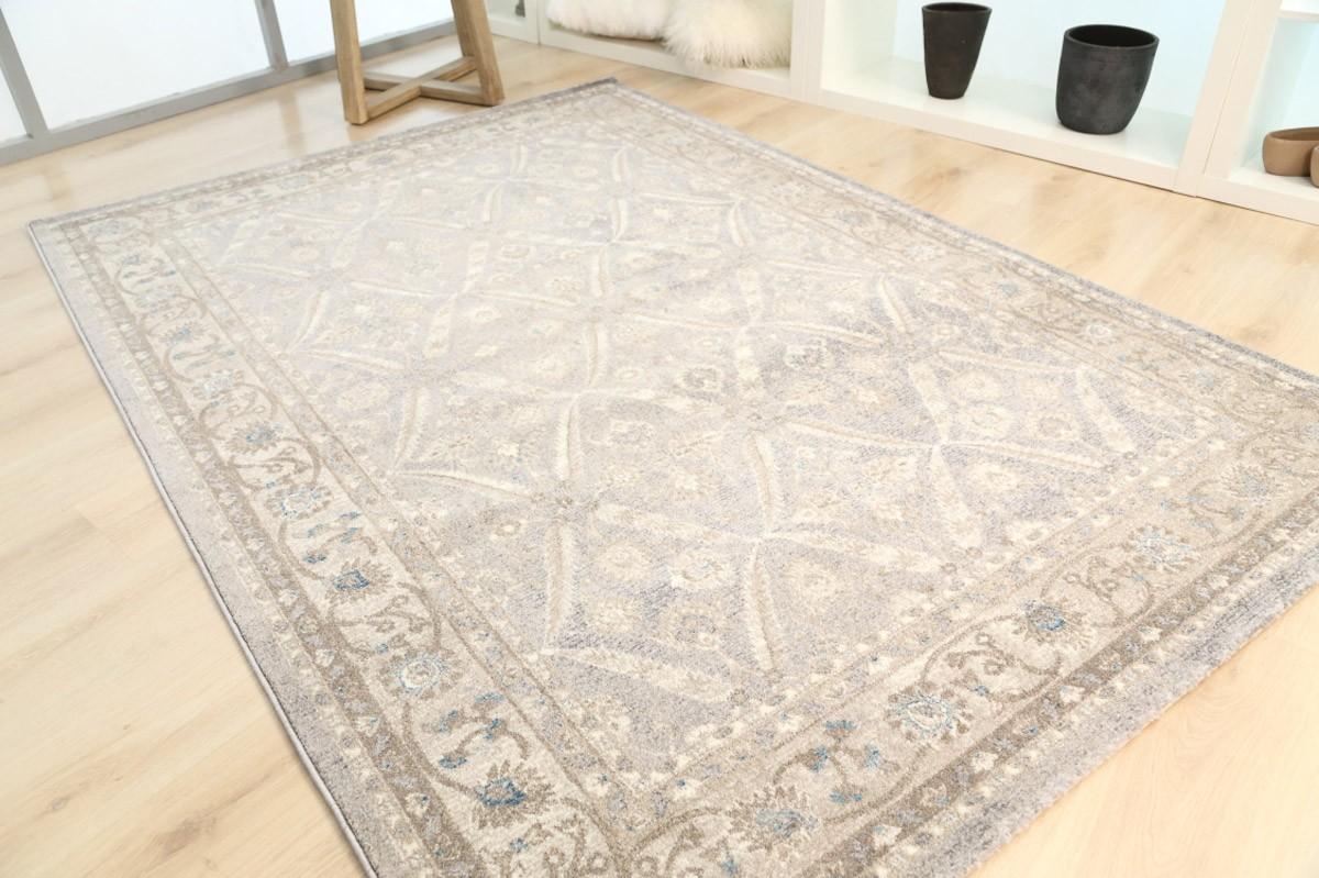 Χαλί (133x190) Royal Carpets Sofia 378 17 Light Grey