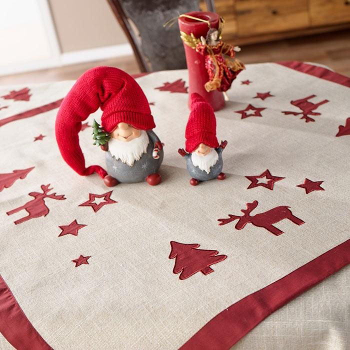Χριστουγεννιάτικο Καρέ Gofis Home Rudolf 412