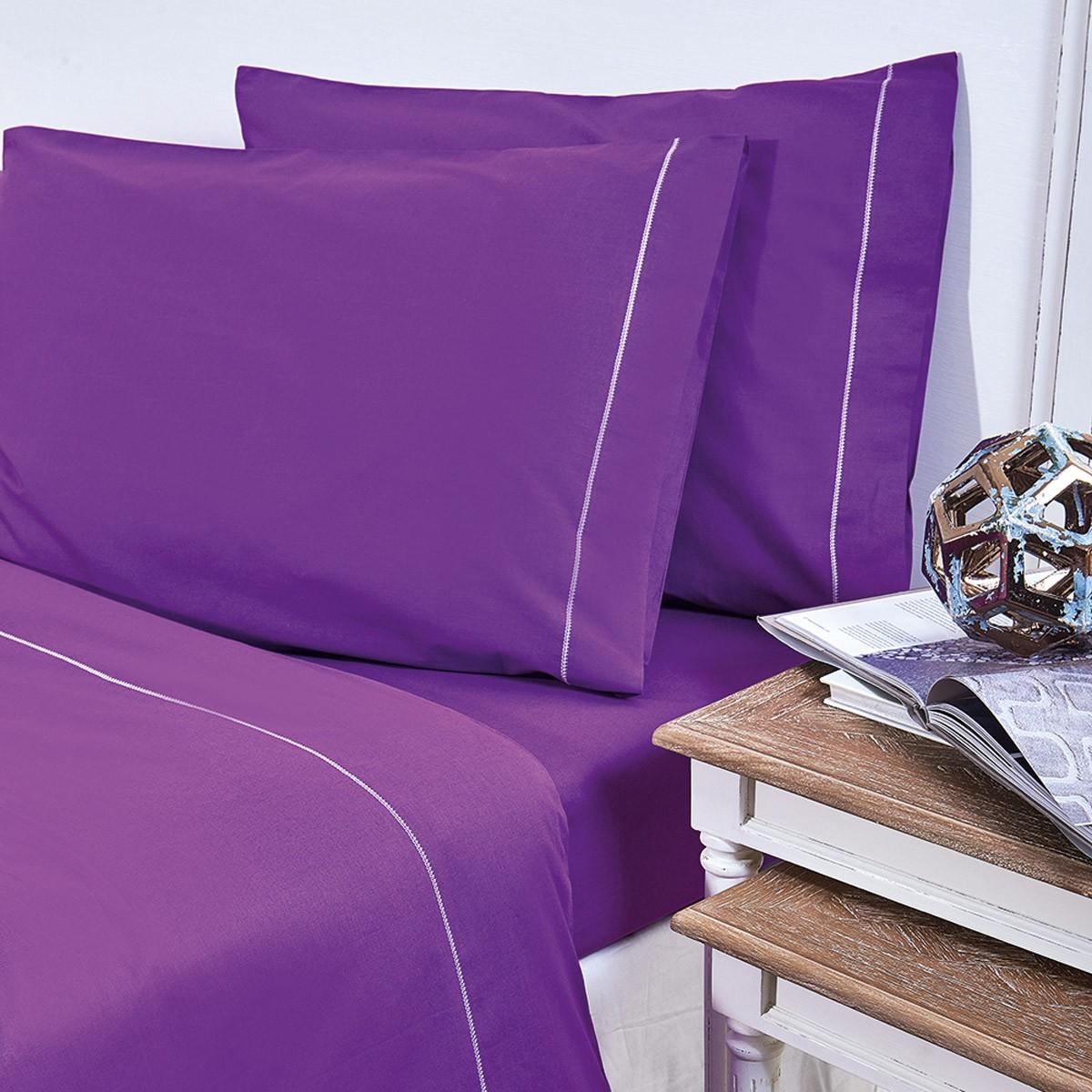 Παπλωματοθήκη Υπέρδιπλη V19.69 Arcobaleno Bello Purple