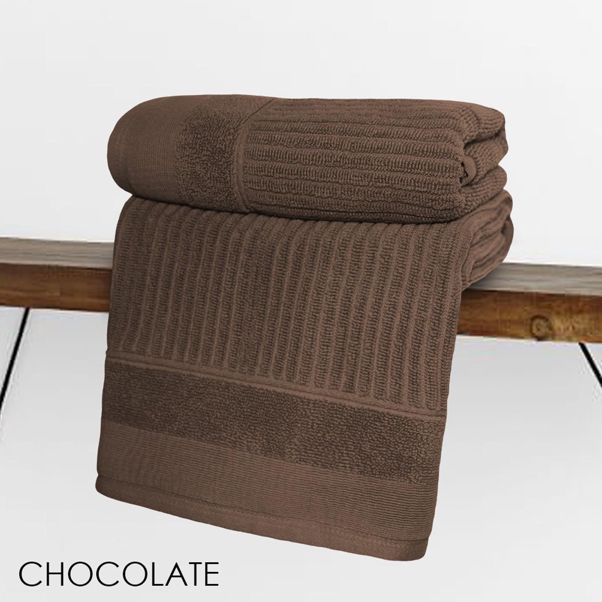 Πετσέτα Προσώπου (50x90) V19.69 Fabia Chocolate