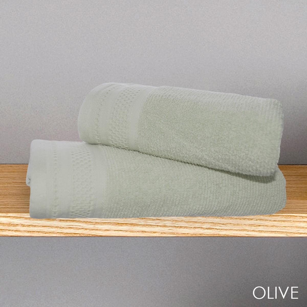 Πετσέτα Προσώπου (50x90) V19.69 Alma Olive