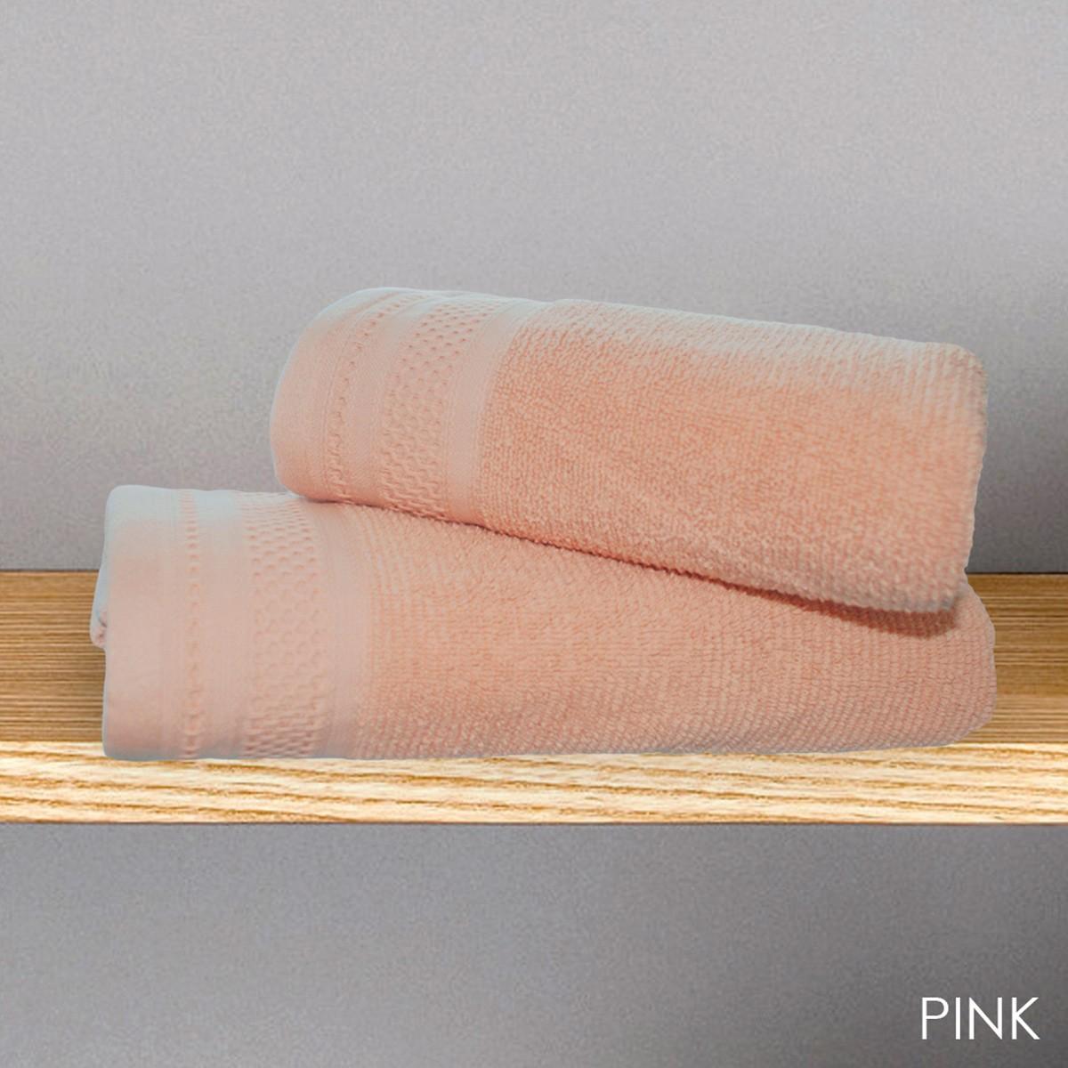 Πετσέτα Προσώπου (50x90) V19.69 Alma Pink