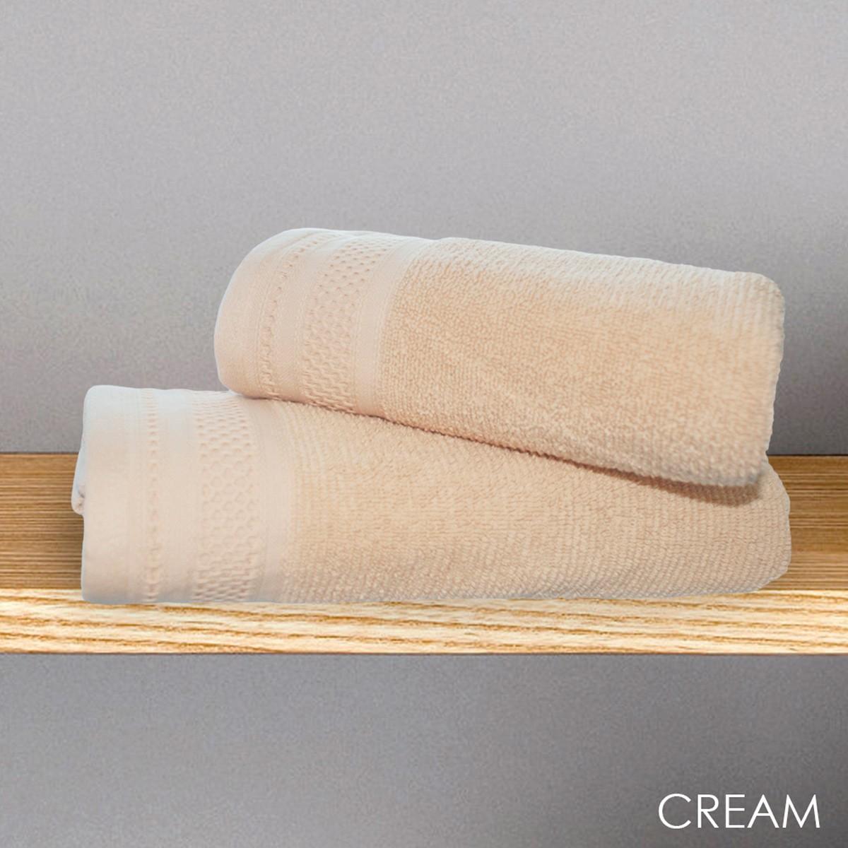 Πετσέτα Σώματος (70x140) V19.69 Alma Cream